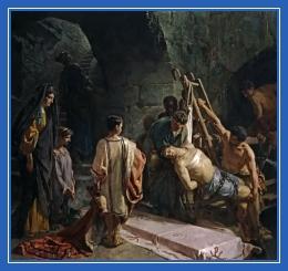 Погребение святого Себастьяна