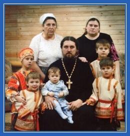 Протоиерей Илья Шугаев и его семья