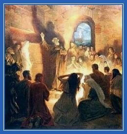 Раннее христианство, катакомбы, проповедь, апостол Петр