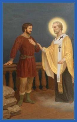 Святитель Николай и мужик