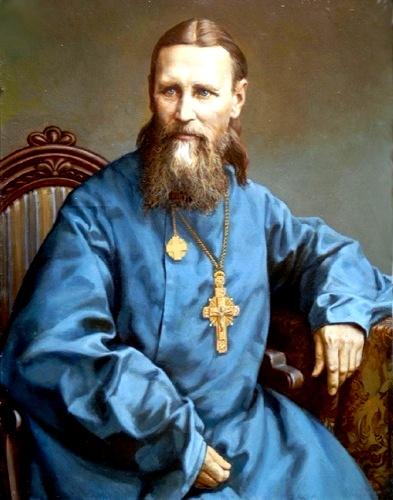 08 Портрет Праведного Иоанна Кронштадтского