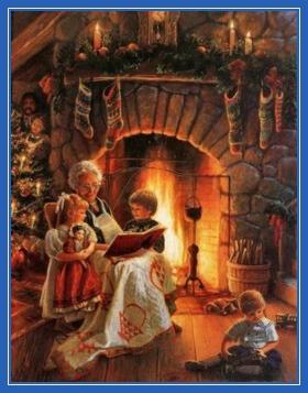 Бабушка, сказки, Рождество, елка