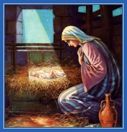 Богомладенец, Пресвятая Богородица, Рождество Христово