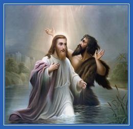 Крещение Господне, Иоанн Креститель икона