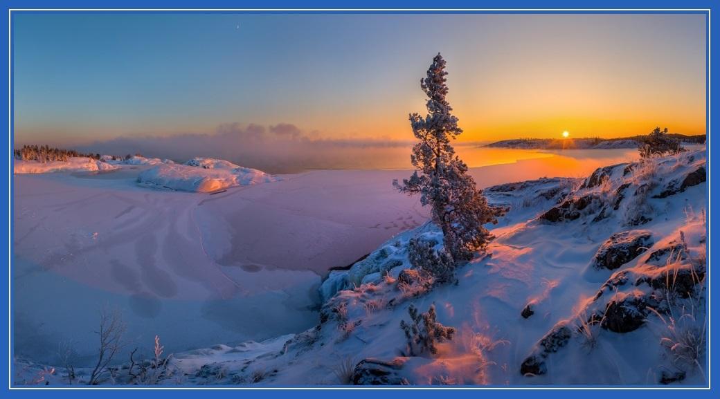 Невероятно красивая зима!