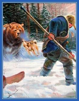 Охота, медведь, опасность