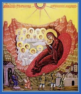 Пресвятая Богородица, Покровительница избиенных младенцев