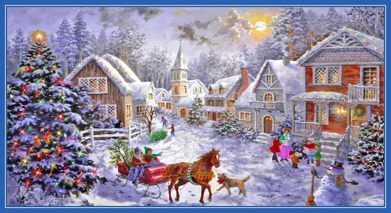 Рождественская картина!