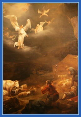 Явление Ангелов пастухам, Рождество Христово