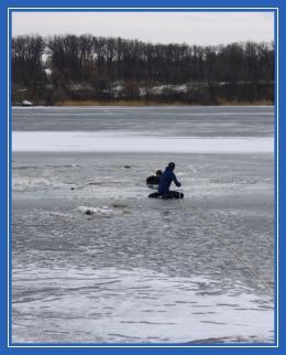 Дети, река, лед, зима, опасность