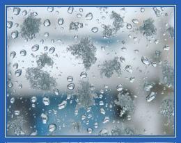 Дождь, капли, стекло, окно