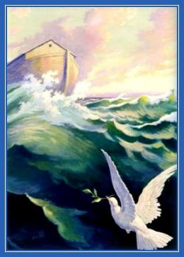 Потоп, Голубь с маслиничной веткой