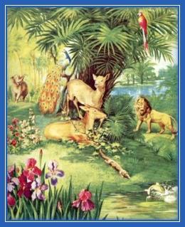Сотворение мира, Рай