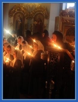 Великий пост, дети, свечи, храм