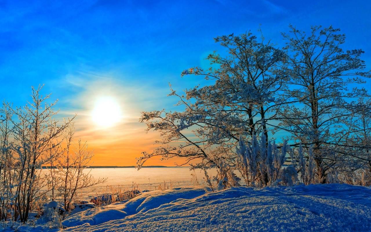 Зимний солнечный день!