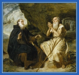 Беседа, старцы, монах, Антоний