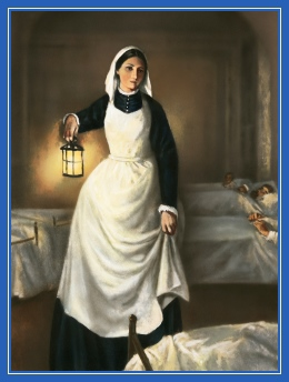 Флоренс Найтингейл - сестра милосердия