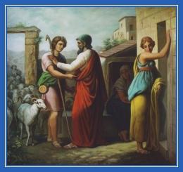Иаков встречает Рахиль