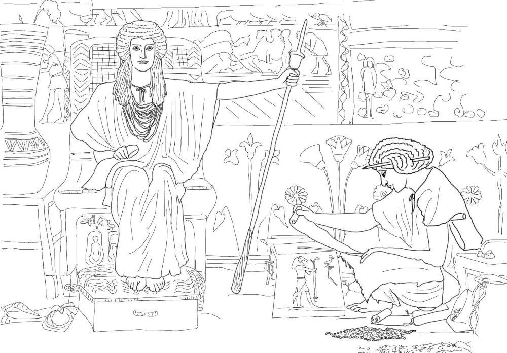 Иосиф надзиратель зернохранилища