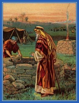 Исаак у колодца