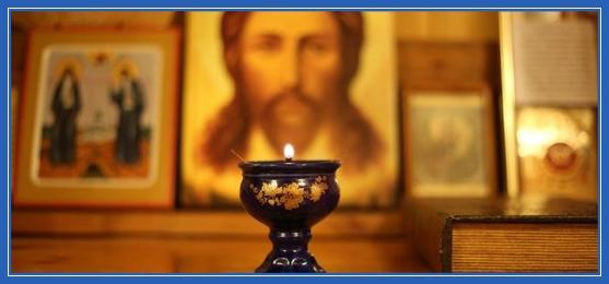 Лампада, теплая вера, икона Спасителя