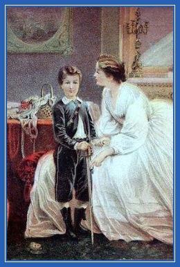 Мама и сын, картина