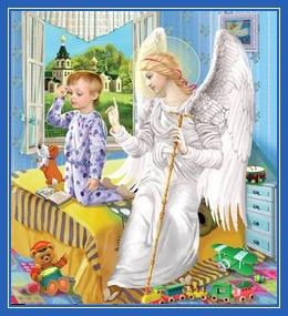 Молитва ребенка, дитя, Ангел Хранитель, малыш, мальчик молиться