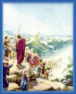 Переход евреем через Чермное море
