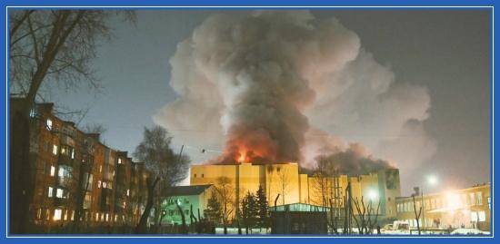 Пожар в Кемерово, молитва