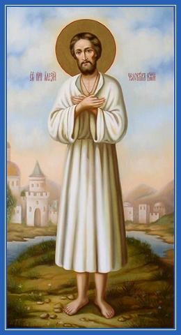Праведный Алексий человек Божий, икона