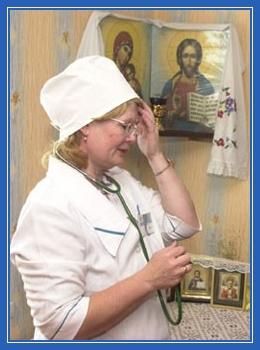 Православный врач, медсестра