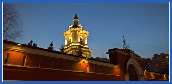 Покровский монастырь Москва