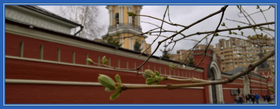 Весна, Покровский монастырь