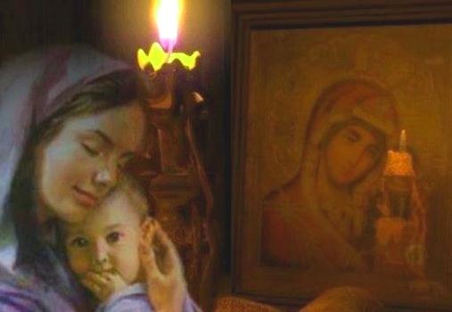 Кому молиться о детях