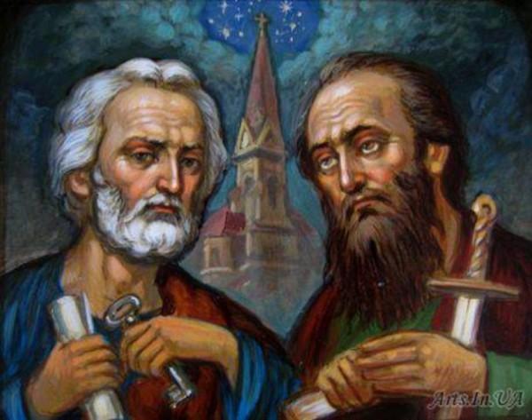 Св. апостолы Петр и Павел. Занятия от Кати Р.