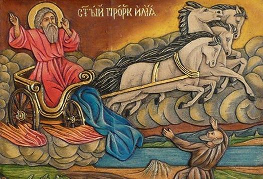 Илья-пророк и Никола-угодник. Притча