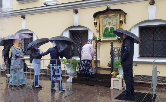 Паломничество к св. Матроне 8 июля 2018