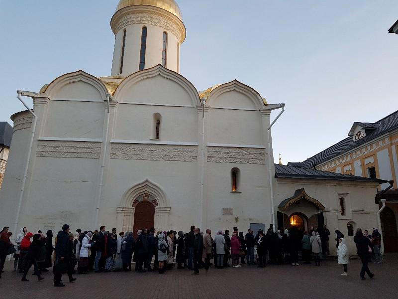 К прп. Сергию Радонежскому - 8 октября