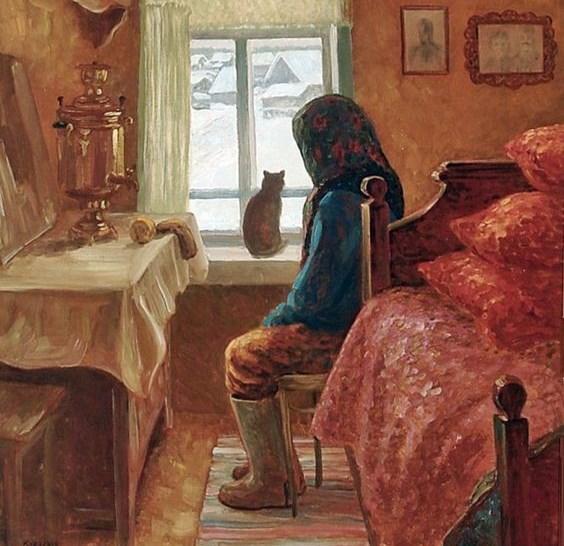 Кот и Ангел | Зимняя сказка в стихах