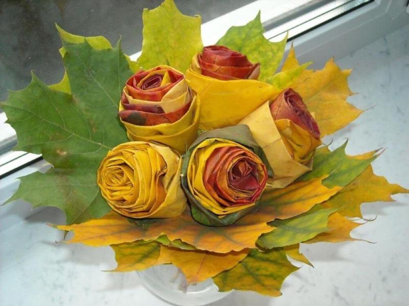 Поделка: Осеннее панно