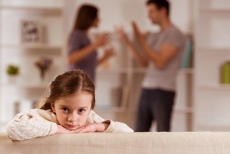 Родительский спор и дети