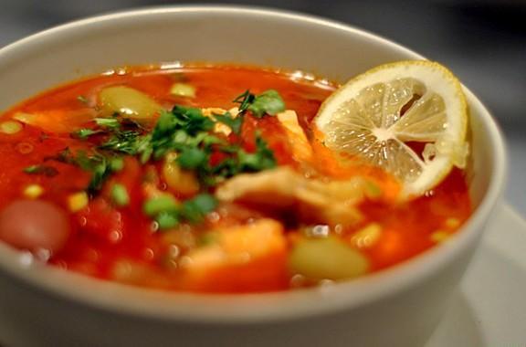 Рыбная солянка. Треска с помидорами   Постный рыбный обед №12