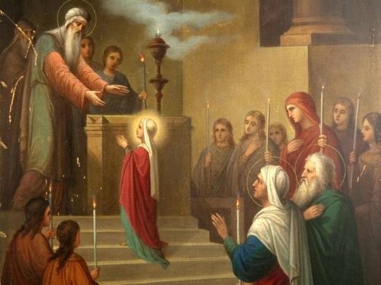 Праздник Введения во храм Пресвятой Богородицы!