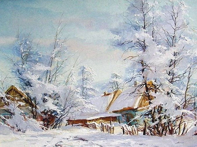 Зимушка пришла! | Зимняя поэзия