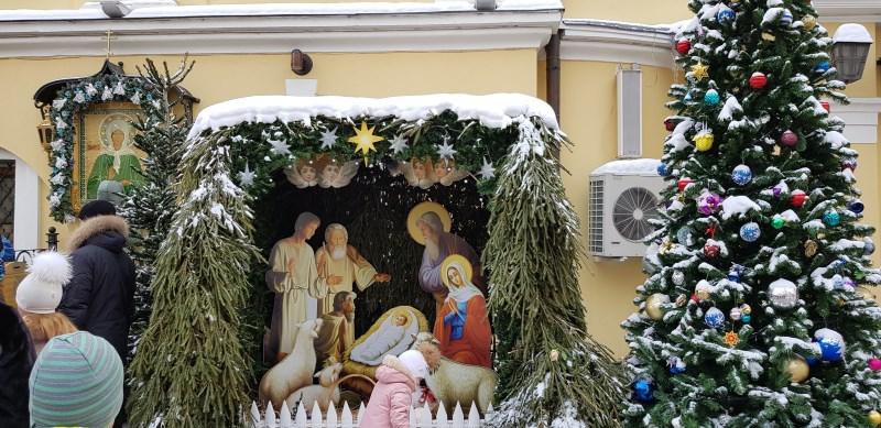 В Сретенский и Покровский монастыри - 13 января 2019