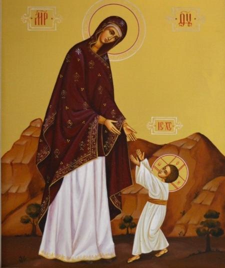 """Икона – """"Первые шаги Христа"""""""