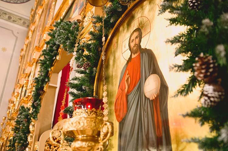 Икона Иисуса Христа. Рождество