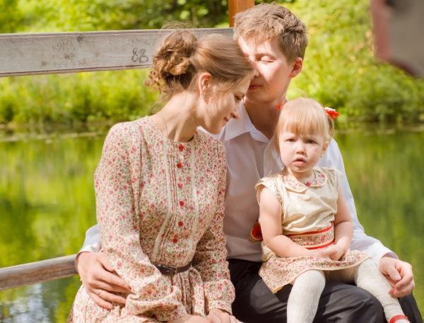 Семья как школа любви
