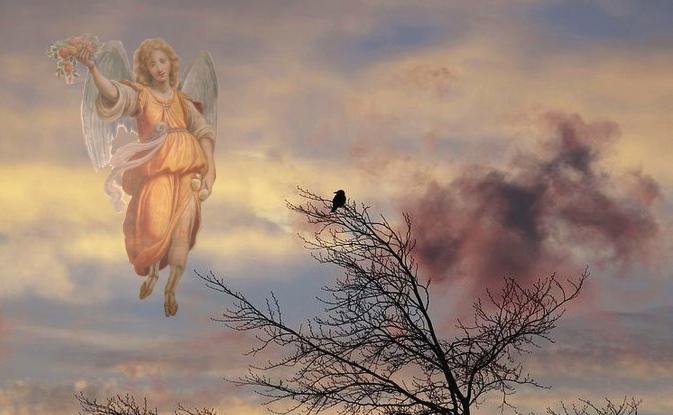 Ангелы на крыльях к нам несут весну