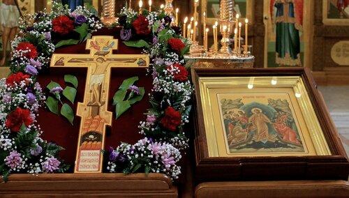 Богослужение на Крестопоклонную неделю | Аудио